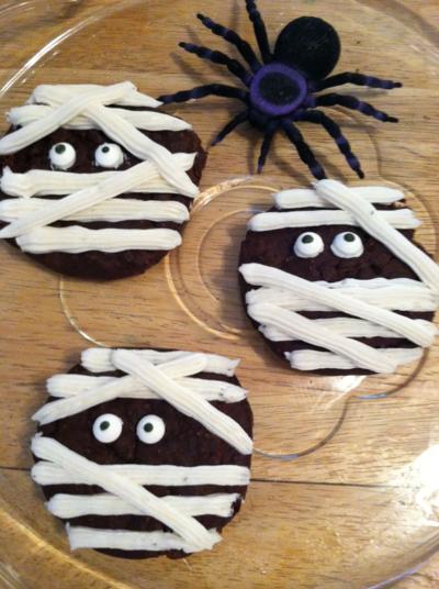 Mummy muffin tops